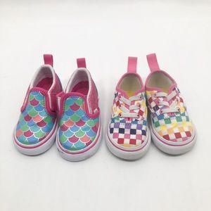 Vans Toddlers 2 pair
